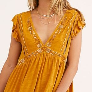 "FREE PEOPLE ""Garden Party Tunic"" NWT"